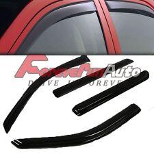 FOR 02-10 EXPLORER/MOUNTAINEER SMOKE WINDOW VISOR SHADE/VENT WIND/RAIN DEFLECTOR