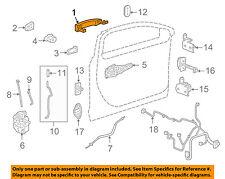 GM OEM-Outside Exterior Door Handle 13577717