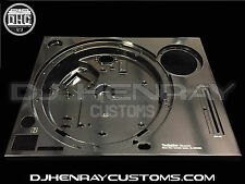 technics 1200 mk2 plinth (top plate) professionally powder coated & laser etched