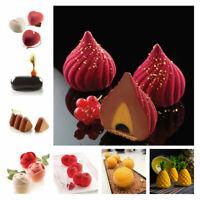 Silicone Cake Mold DIY 3D Bakeware Baking Mold Cupcake Porous Mousse Mould Decor