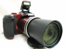 Nikon Coolpix P600 compact digital camera *red with accessories *superb