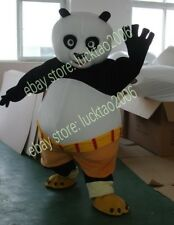 Kung Fu Panda Mascot Cartoon Fancy Theater Costumes Makeup Party Adult size 214