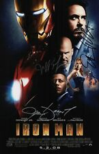 Robert Downey Jr. Terrence Howard Jeff Bridges & Gwyneth Paltrow Signed Iron Man