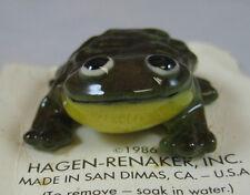 Hagen Renaker miniature made in America frog Mr Froggie retired