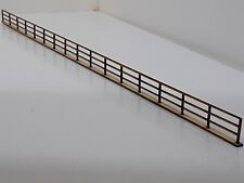 Laser Cut N Gauge Fence Kits Pack of 4 Sections Each 300mm Long 0.8mm Birch Ply