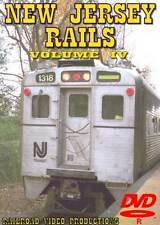 New Jersey Rails Volume 4 DVD NEW Clark Edison Township Iselin Princeton NJT NS