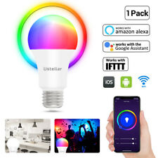 9W Wifi Smart RGB LED Bulb white Light for Amazon Alexa/Google Home App Control