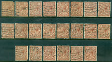 Great Britain Sg-420, Scott # 189, Used, Faults, 22 Stamps, Great Price!