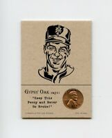 TOM SEAVER Mets 1967 Penny Insert NEVER GO BROKE Trade Card RARE