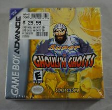 Super Ghouls N Ghosts (Nintendo Game Boy Advance Gameboy) NEW Sealed MINT