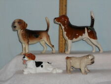 Vintage Hagen Renaker Dw Beagle Sally & Nobby Beswick Ch Wendover Billy More!