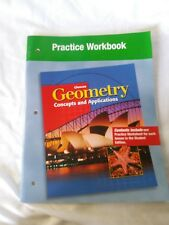 GLENCOE GEOMETRY, PRACTICE WORKBOOK (GEOMETRY: CONCEPTS & APPLICATIONS)