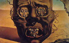 Incorniciato stampa-Salvador Dali il volto della guerra (Pittura foto poster arte)