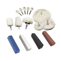 Robtec Aluminum Polishing Kit (15-Piece)