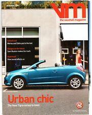 Vauxhall Magazine Summer 2004 UK Market Brochure Tigra Signum VX220 Monaro VXR