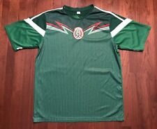 Mexico National Team Soccer Jersey Mens Large Green White Football Mexicana