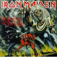 Number Of The Beast - Iron Maiden CD Sealed ! New !