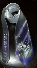 L@@K! Transformers Decepticon logo Neck Tie