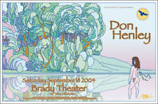 Don Henley 2004 Tulsa Ok Brady Theater Original Signed Concert Poster Eagles