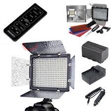 YongNuo YN300II Led video light + NP-F750 battery + Charger for Canon Nikon DSLR