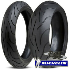 Michelin Pilot Power 2CT 180/55ZR17 & 120/70ZR17 Set Combo Pair Sportbike Tires