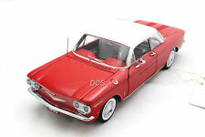 FRANKLIN MINT 1960 CHEVROLET CORVAIR 50th ANNIVERSARY RED 1/24 LIMITED B11G397