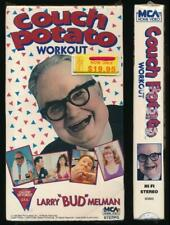 MCA Betamax NOT VHS Couch Potato Workout 1988 Larry Bud Melman FACTORY SEALED