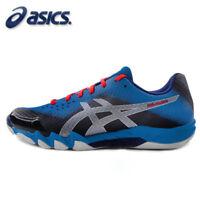 ASICS GEL-BLADE 6 Men's Badminton Shoes Indoor Blue Racquet Racket NWT R703N-400