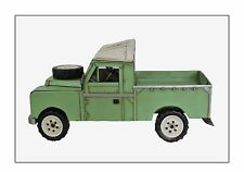 1958-1961 Series ll Land Rover Pickup Tin Plate Model Ornament