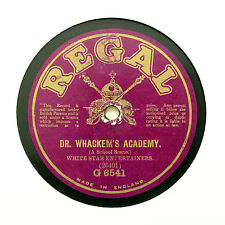 """WHITE STAR ENTERTAINERS """"Sunrise At The Zoo"""" REGAL G-6541 [78 RPM]"""