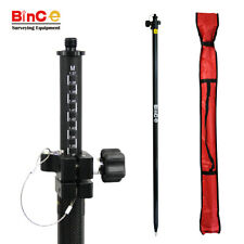 Carbon Fibre Pole 2.5m for GNSS GPS RTK Surveying Total Station Prism Survey