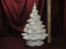 Ceramic Bisque U-Paint Atlantic Christmas Tree 1 Ring Ready to Paint Unpainted