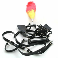 Horse Armet Bit Gag With Reins Slave Sub Mouth Gag Horse Play Pony Play smab28