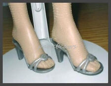 SILVER High Heel Sandals  Doll Shoes for KITTY COLLIER DeeAnna Denton