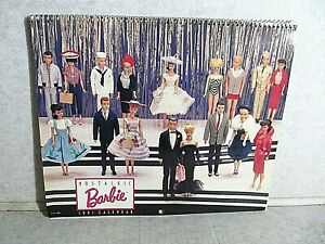 Vintage Barbie 1991 Nostalgic Calendar all pix in tact - 2 months have markings