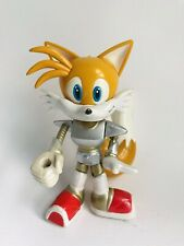 Sonic X Space Fighters Figure Tails Miles Hedgehog Toy Island Rare 5""