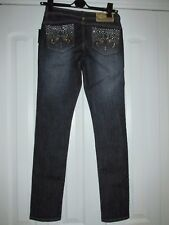 New Dereon Size 9/10 Skinny Bling Jeans