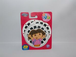 NEW Fisher Price 2006 DORA the EXPLORER  View-Master 3D Reels 3 Discs in Package