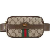 Gucci Ophidia Belt Small Size 85 Brown Gg Supreme Canvas Messenger Bag