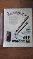 PUBLICITE ANCIENNE PUB ADVERT - JIF WATERMAN - 1934