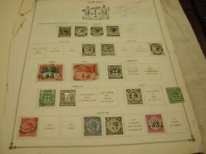 Jamaica Stamp Collection 1900 - 1937