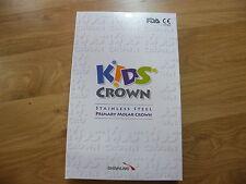 Kids Crown pediatric dental SS crowns each size 2(96pcs) FDA CE Approved (KIT)