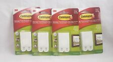 Command 4 Pack 3M Size Medium Damage Free Hanging Holds 12 lbs Lot of 4(b