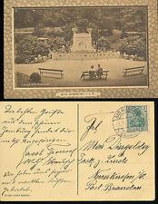 BAD  HOMBURG  landgrafenbrunnen  Deutsche Feldpost  Militär 1916 (33