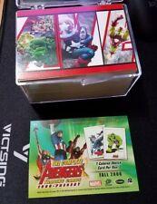 Complete set 2006 Avengers Marvel Trading Cards + Promo card 1963-present(2006)