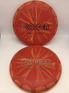 NEW Retro Burst Dagger 174g Putter PAIR Latitude 64 Discs Golf Disc