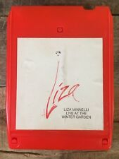 LIZA MINNELLI Live At The Winter Garden (8-Track Tape)