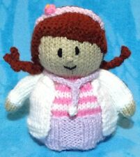 KNITTING PATTERN - Doc / Doctor chocolate orange cover or 15 cms toy