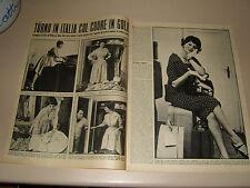 SOFIA SOPHIA LOREN clipping ritaglio articolo foto photo=ANNI '50=69