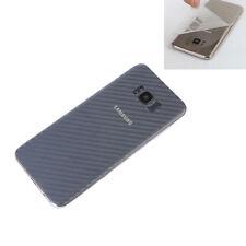 2 x reverso carbon película protectora Samsung Galaxy s8+ plus atrás película diapositiva